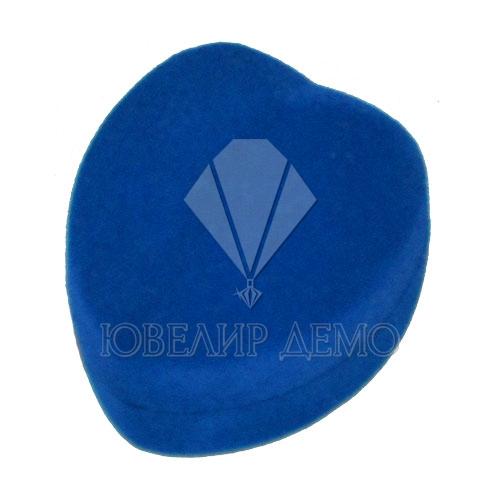 Футляр «сердце маленькое» синий Ювелир Демо