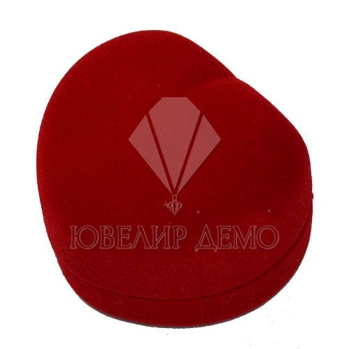 Футляр «сердце» красный, универсальная прорезь.