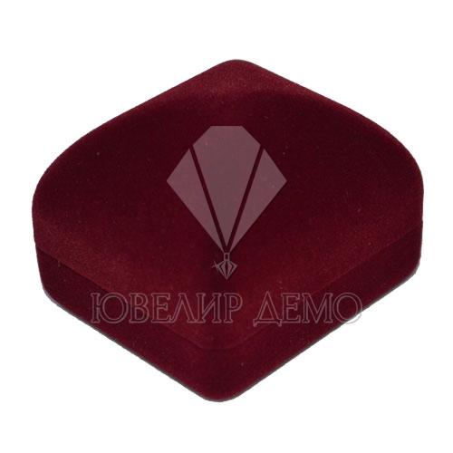 Футляр «квадрат» бордовый универсальная прорезь