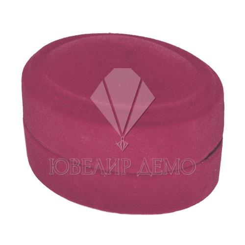 Футляр «овал маленький» розовый универсальная прорезь Ювелир Демо