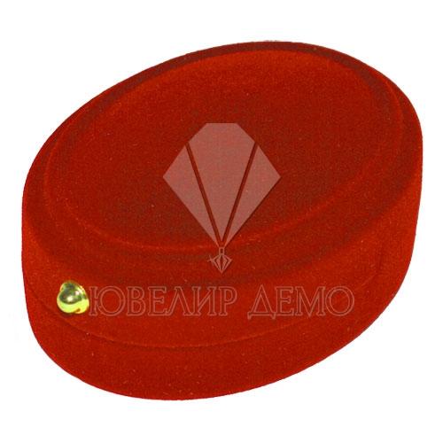 Футляр «овал» красный для комплекта Ювелир Демо