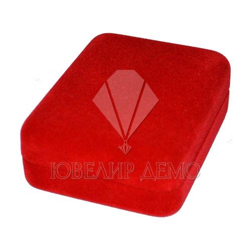 Футляр «прямоугольник» красный, для комплекта.