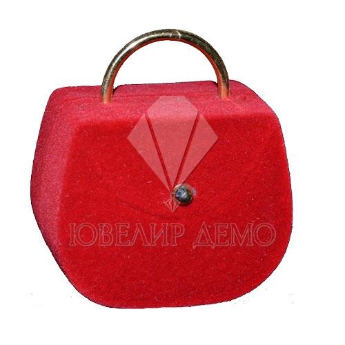 Футляр «сумка» красный, универсальная прорезь.