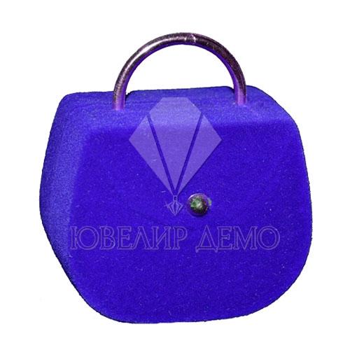Футляр «сумка» синий универсальная прорезь