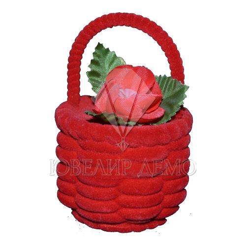 Футляр «корзинка» красный универсальная прорезь