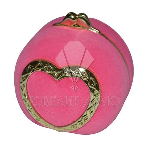 Футляр «кошелёк» розовый, универсальная прорезь.
