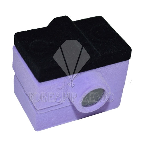 Футляр «фотоаппарат» фиолетовый универсальная прорезь
