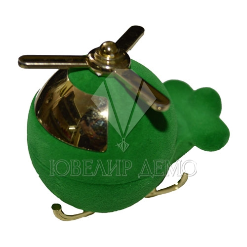 Футляр «вертолёт» зеленый универсальная прорезь
