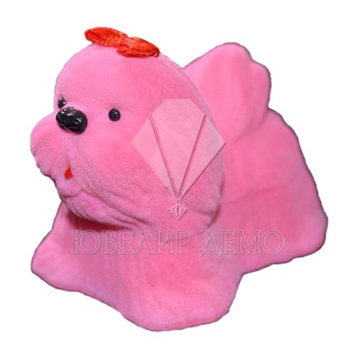 Футляр «болонка» розовый универсальная прорезь