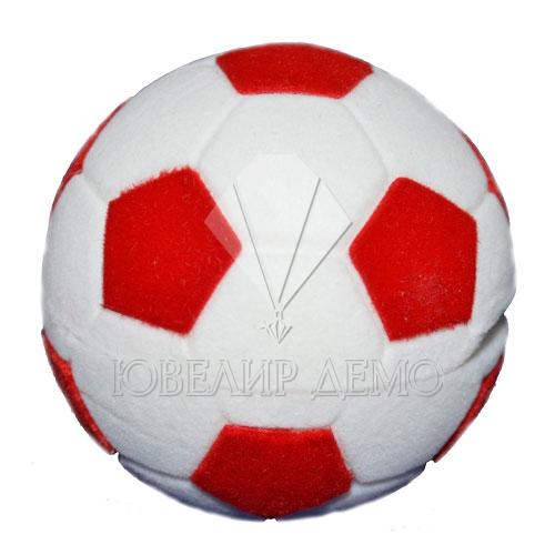 Футляр «мячик» красный универсальная прорезь