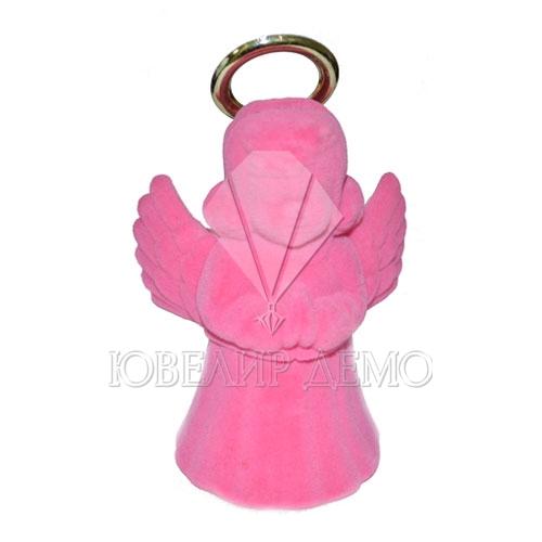 Футляр «ангелочек» розовый универсальная прорезь