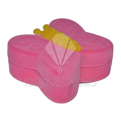 Футляр «бабочка» розовый универсальная прорезь