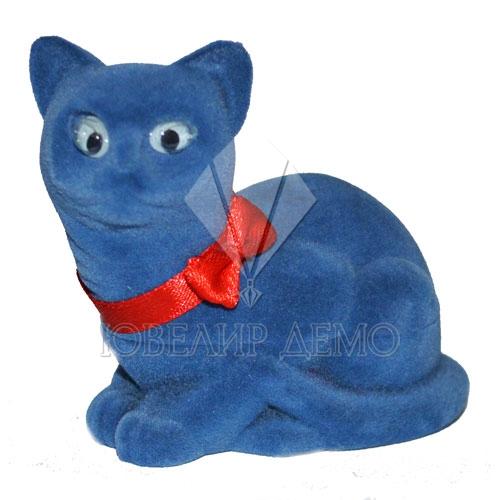 Футляр «кошка» серый универсальная прорезь