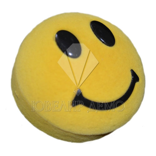 Футляр «смайл» желтый универсальная прорезь