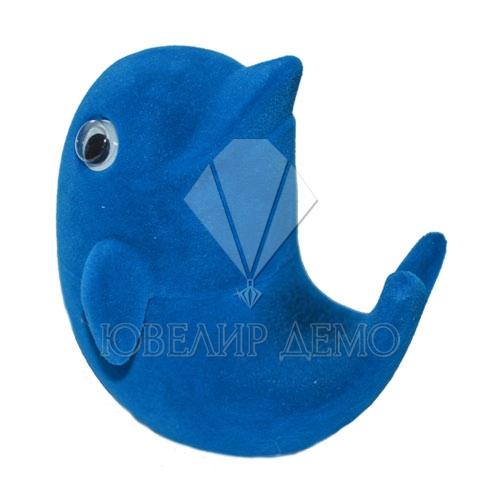Футляр «дельфин» синий универсальная прорезь