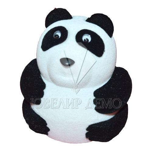 Футляр «панда» черно-белый универсальная прорезь
