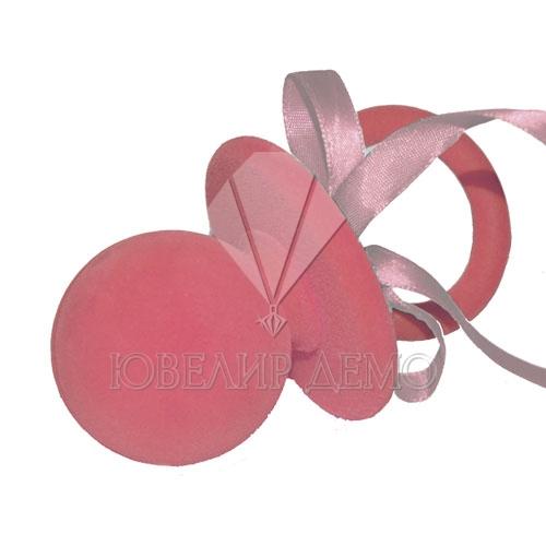 Футляр «соска» розовый универсальная прорезь
