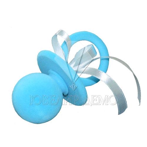 Футляр «соска» голубой универсальная прорезь