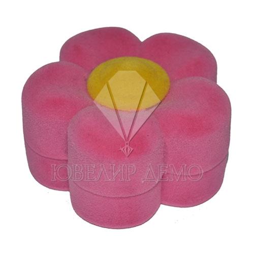 Футляр «цветочек» розовый универсальная прорезь