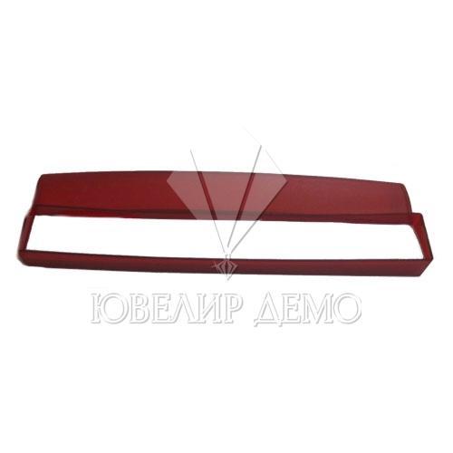 Пенал для браслета красный (пластиковый)