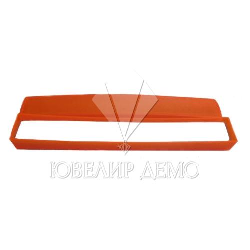 Пенал для браслета оранжевый (пластиковый)