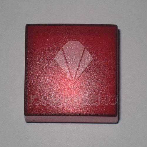 Футляр пластиковый для серьг красный