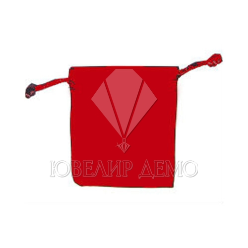 Мешок красный 6х8 см
