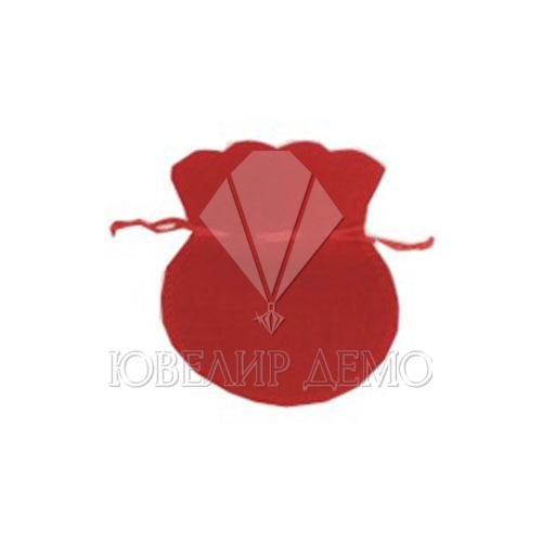 Мешок красный 6х7см