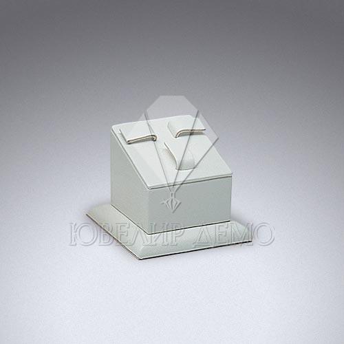 Сота ювелирная квадратная одинарная на подставке под гарнитуры Ювелир Демо