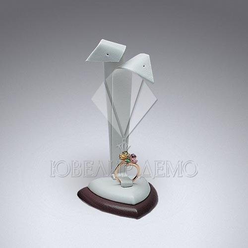 Ушки ювелирные на треугольной двойной подставке Ювелир Демо