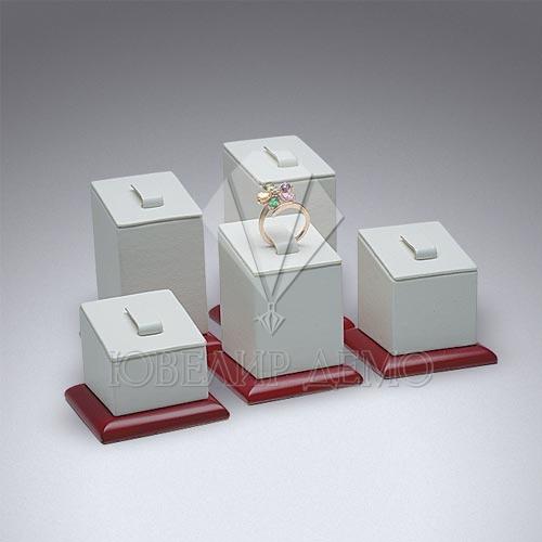 Соты ювелирные квадратные на подставках Ювелир Демо