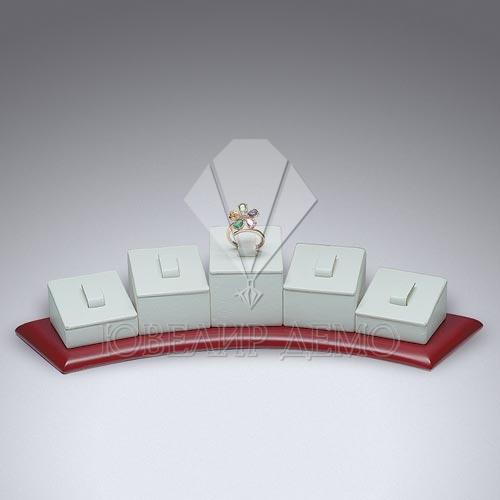 Соты ювелирные квадратные на подставке «диадема» Ювелир Демо