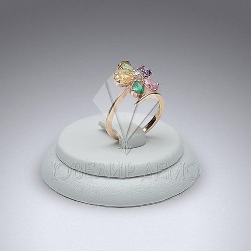 Подставка ювелирная под кольца «таблетка» Ювелир Демо