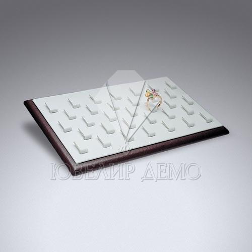 Подставка ювелирная под кольца плоская на ножке Ювелир Демо
