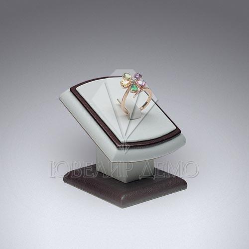Ювелирная подставка под кольцо «зеркало» Ювелир Демо