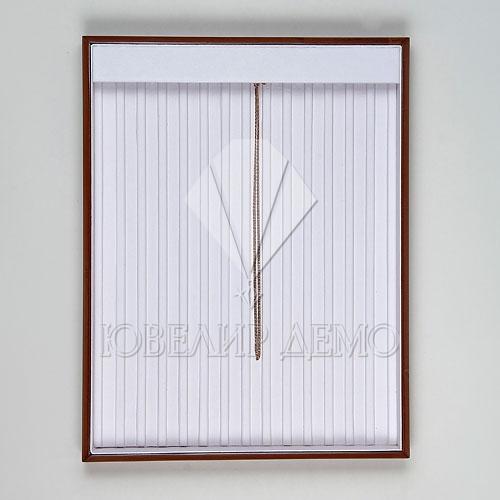 Планшет ювелирный под цепи с перегородками (310x240x35) Ювелир Демо