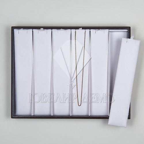 Планшет ювелирный под 6 цепей (310x240x35) Ювелир Демо