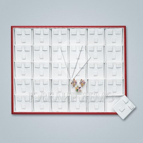 Планшет ювелирный кармашки под гарнитур серия «Престиж» Ювелир Демо