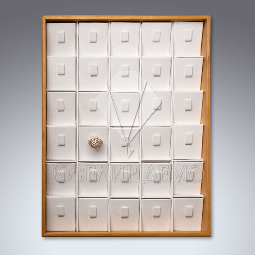 Планшет ювелирный кармашки под кольца Ювелир Демо