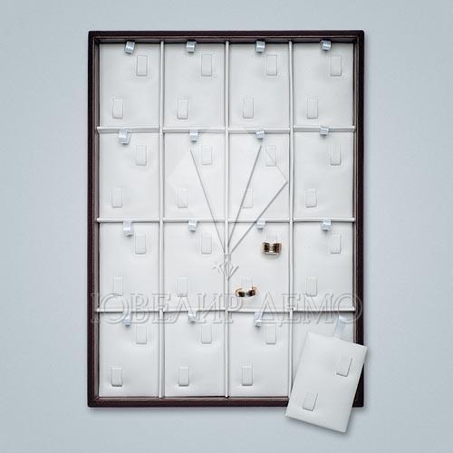 Планшет ювелирный квадраты под обручальные кольца Ювелир Демо